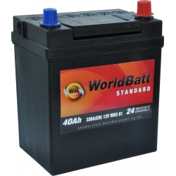 World Batt Standard 40 Ah 330 A
