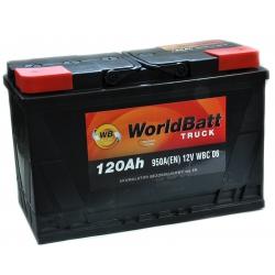 World Batt Ciężarowe 120 Ah 950 A