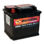 World Batt Standard 45 Ah 360 A