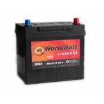 World Batt Standard 60 Ah 480 A JAPAN