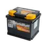 World Batt Gold 52 Ah 520 A