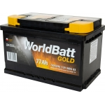 World Batt Gold 77 Ah 770 A