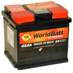World Batt Standard 45 Ah 360A